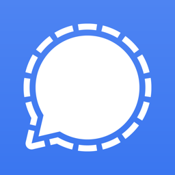 Ícone do app Signal - Mensageiro Privado
