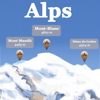 Jérôme Goursau - Alpen Berge Grafik