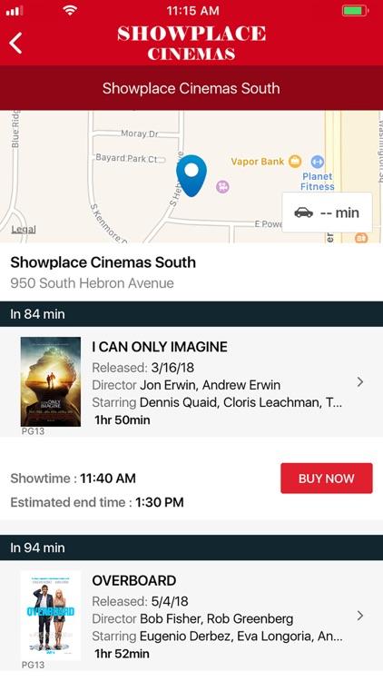 Showplace Cinemas screenshot-3