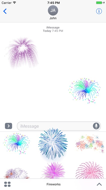 Fireworks Stickers Pack!