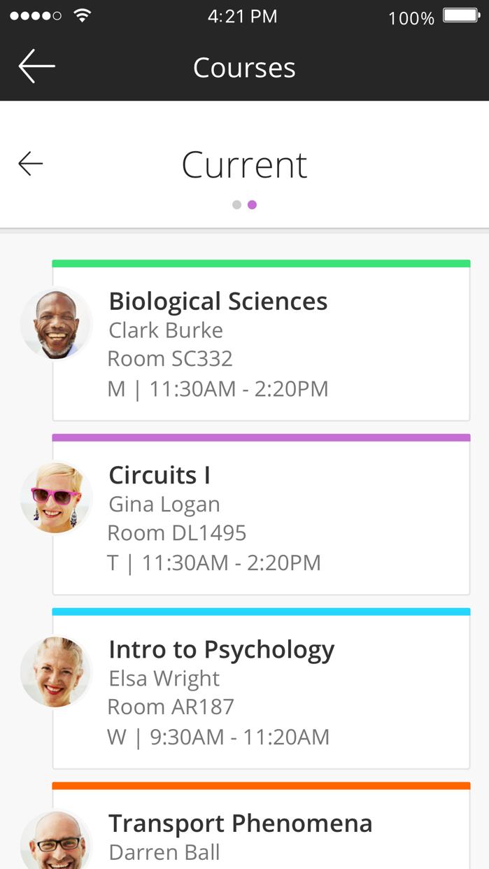 Blackboard Screenshot