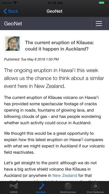 Volcano Updates screenshot-4