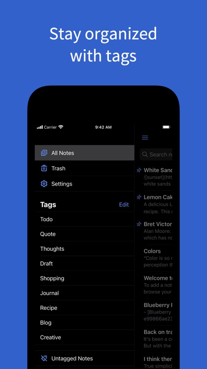 Simplenote – Notes and Todos screenshot-3