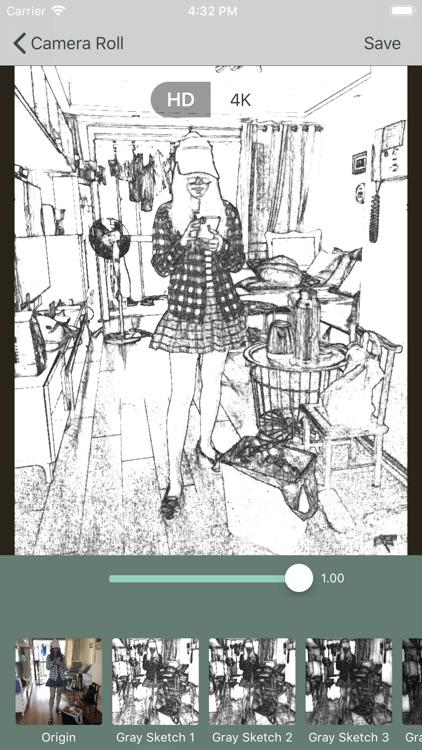 Photo To Sketch Drawing Filter screenshot-0