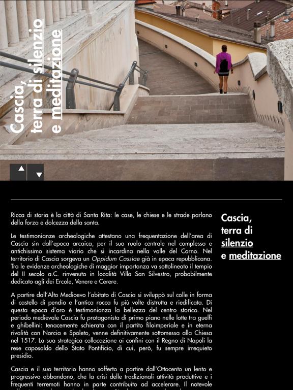 Cascia - Umbria Musei-ipad-1
