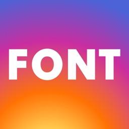 Fonts + Keyboard for Instagram