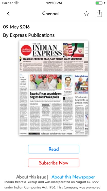 The New Indian Express Epaper screenshot-3