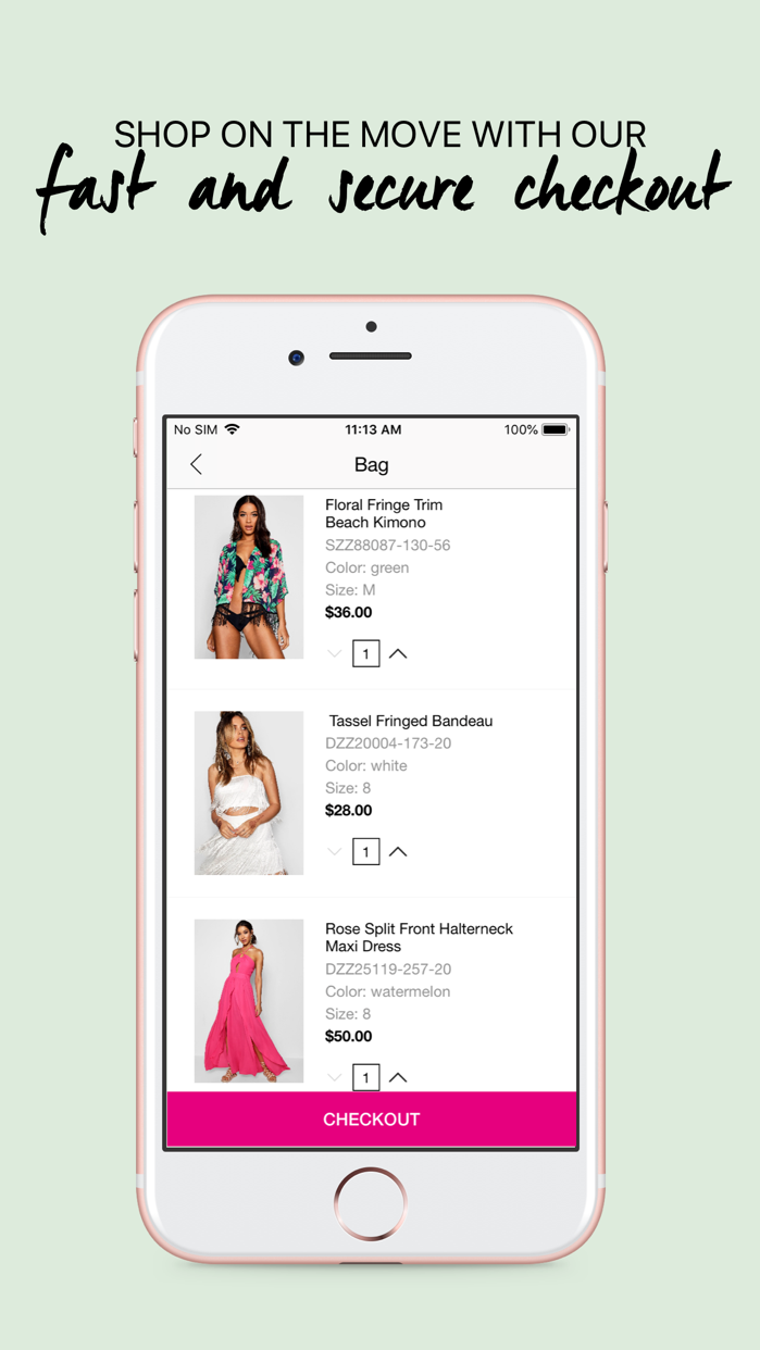 boohoo – Clothing & Fashion Screenshot