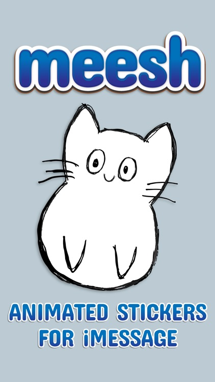 Meesh Animated Cat screenshot-0