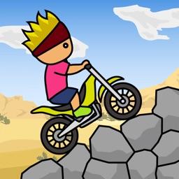 トニーくんのトライアルバイク