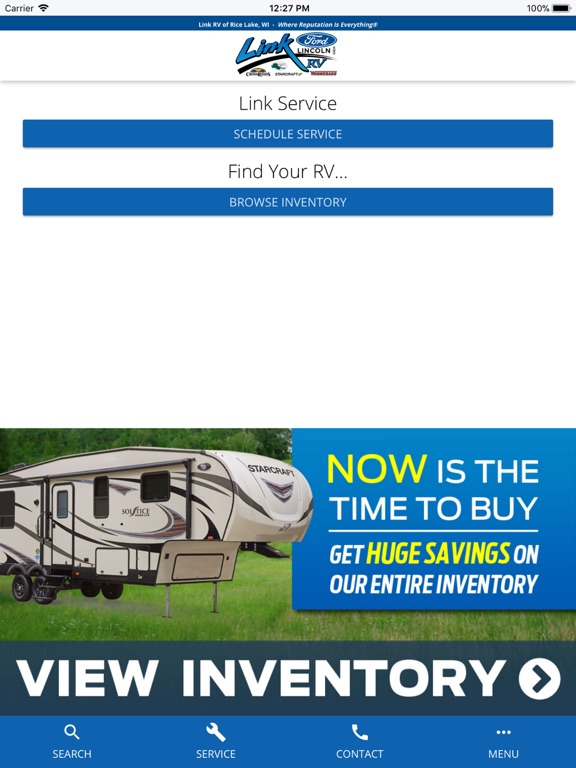 Image of Link RV Rice Lake for iPad