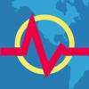 地震+ 地図, 情報, 警告 - Earthquake+