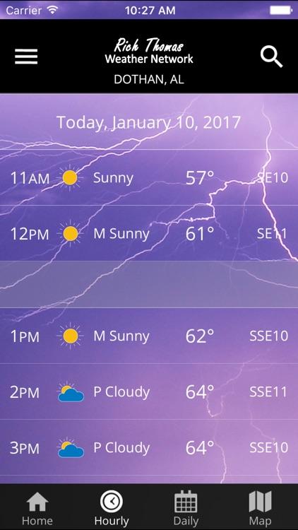 Rich Thomas Weather Network screenshot-3
