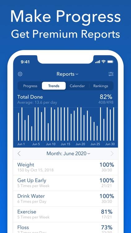 Strides: Goal & Habit Tracker screenshot-7