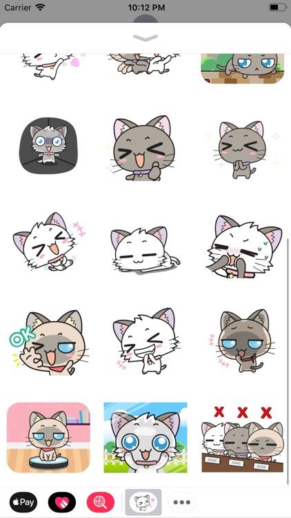 Kitty Cutie Style Stickers