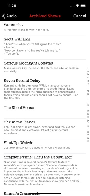 WFMU Radio on the App Store