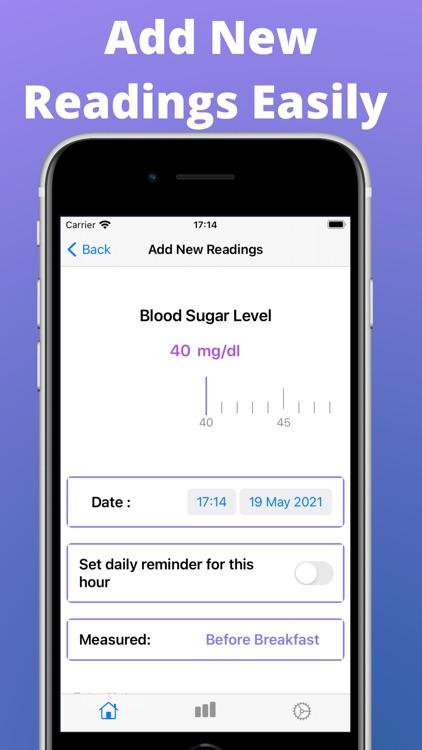 Diabetes, Blood Sugar Tracking screenshot-3