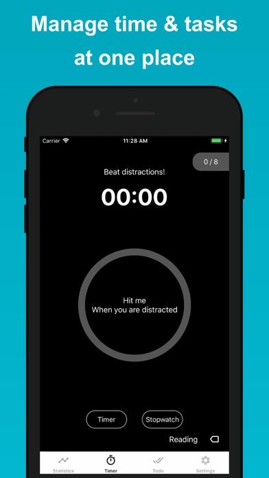 Скриншот №1 к Engross Focus Timer  To-Do