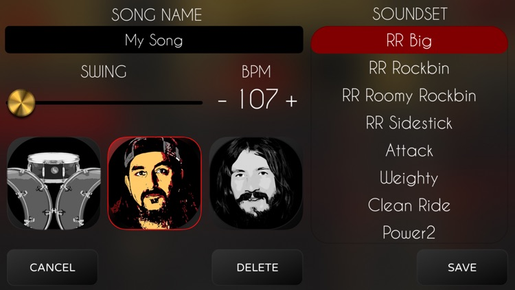 Rock Drum Machine screenshot-5