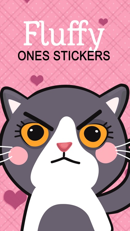 Fluffy Ones Stickers