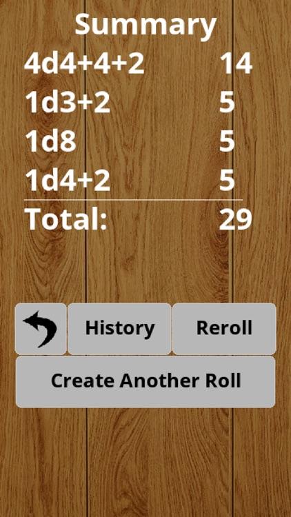 RPG Advanced Dice Roller Lite screenshot-3