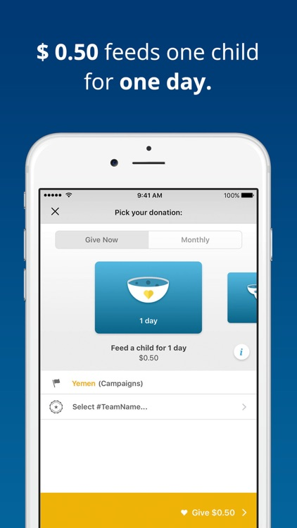 ShareTheMeal screenshot-4