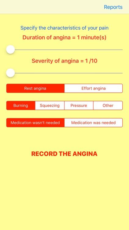 Angina Recorder screenshot-0