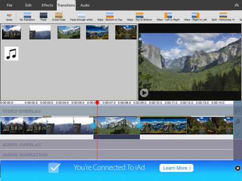 VideoPad - Video Editor - náhled
