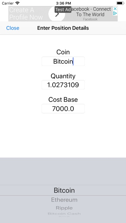 Simply Bitcoin Prices screenshot-3