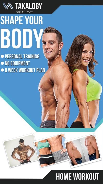 Home Workout - Fitness Planner screenshot-0