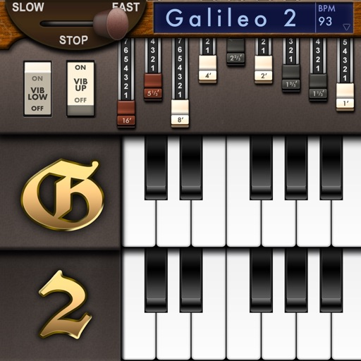 Galileo Organ 2 app for ipad