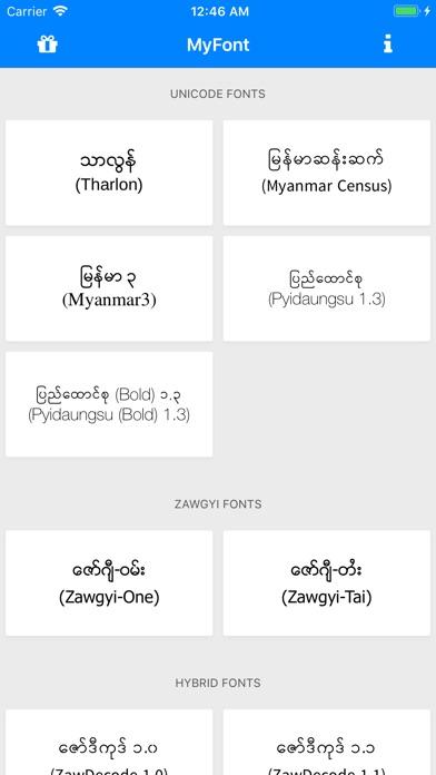 zawgyi font for samsung