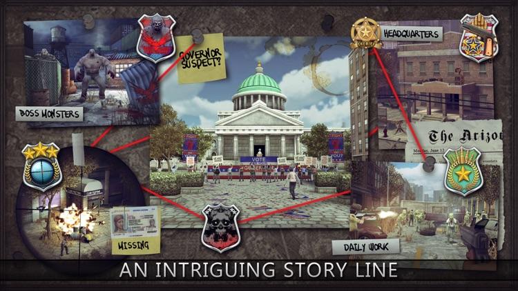 Last Hope Sniper - Zombie War screenshot-4