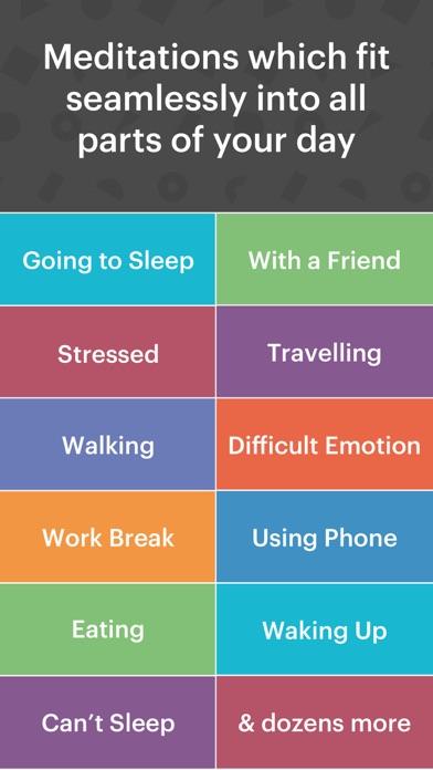 buddhify: meditation on the go app image