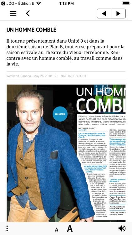 Journal de Montréal – EÉdition screenshot-5