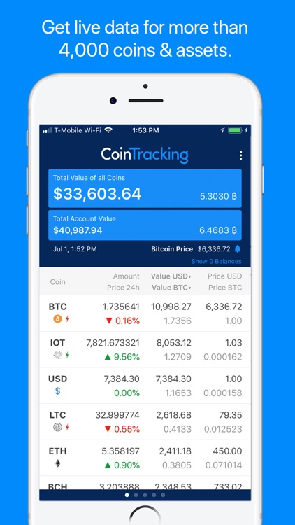 CoinTracking screenshot-1