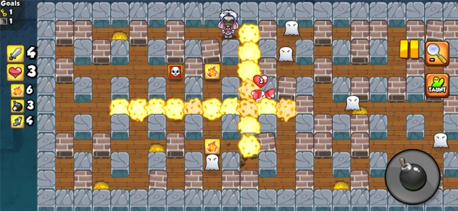 Bomber Friends!, game for IOS