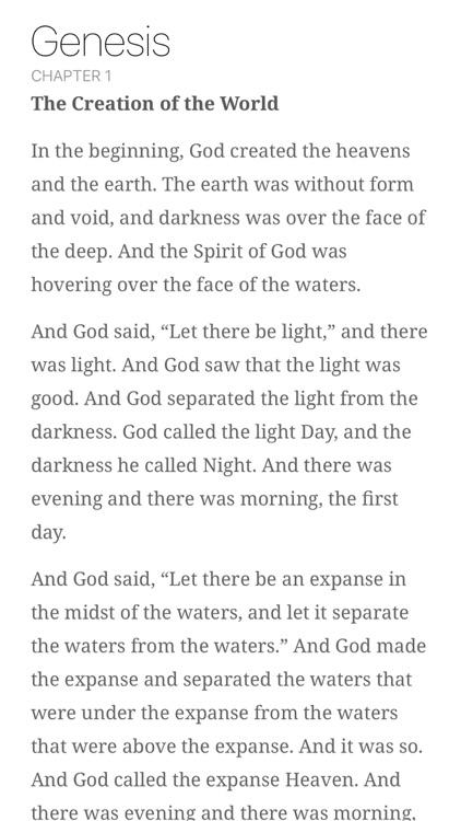Read Scripture