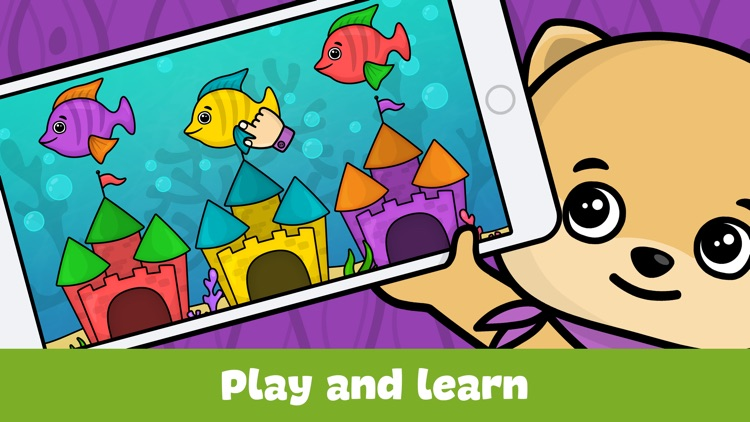 Baby games for 2 - 4 year olds screenshot-4