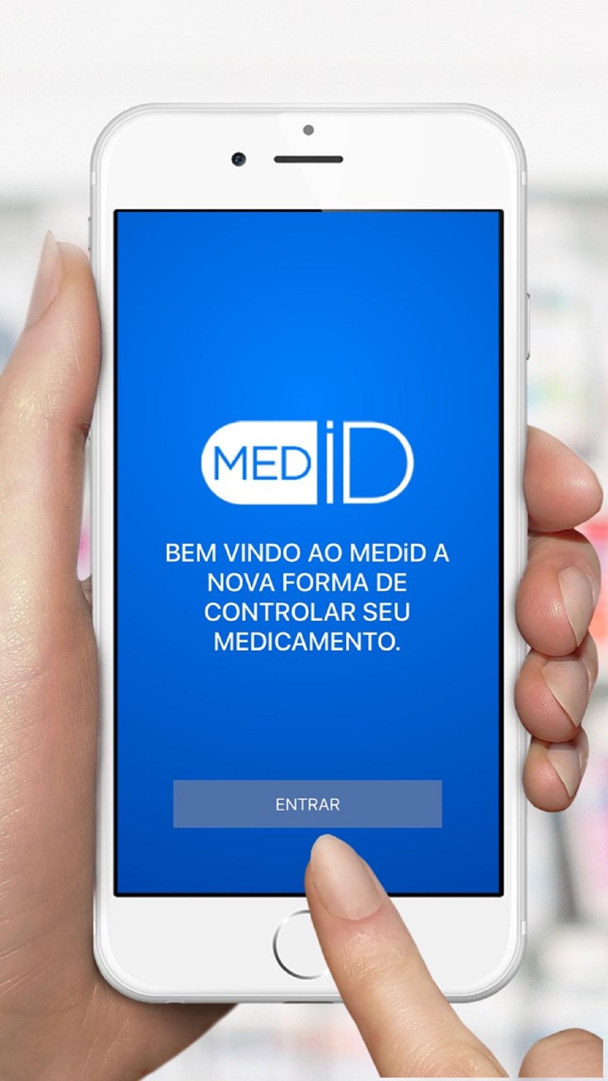 Screenshot do app MEDiD