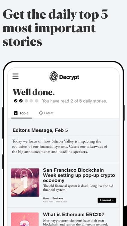 Decrypt: Bitcoin & crypto news screenshot-3