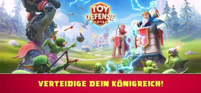 Toy Defense Fantasy TD Screenshot