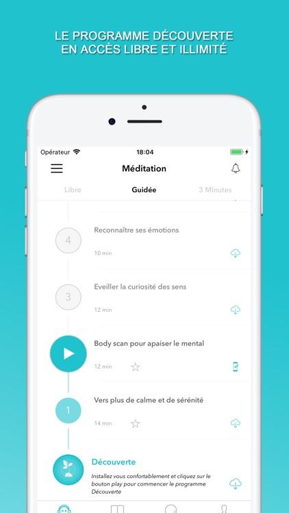 Méditer avec Petit BamBou screenshot-3