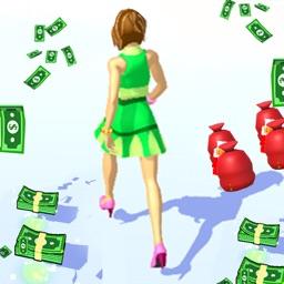 Rich Runner 3D - Life of Queen