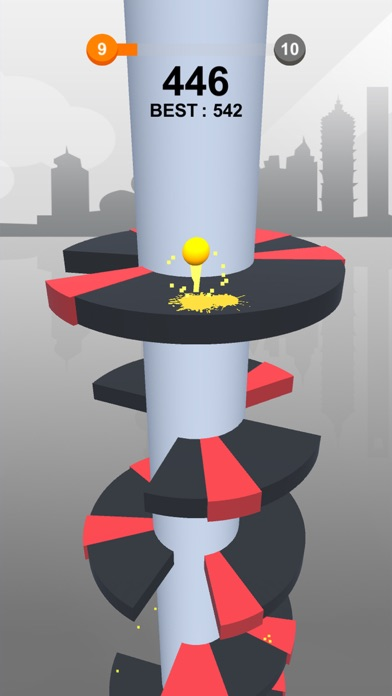 Jump Ball-Bounce On Tower Tile screenshot #5