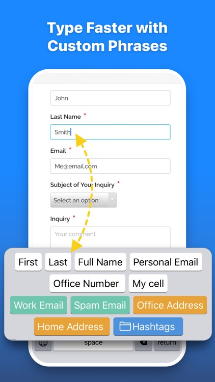 NextBoard - Clipboard Keyboard screenshot-5