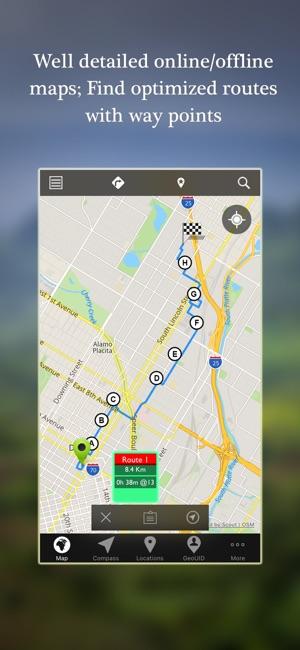 Offline Map Navigation Tracker On The App Store - Navigation map online