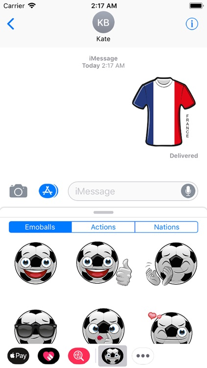 Emoball for football