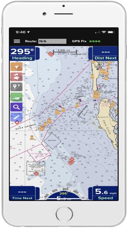 PRO CHARTS - Marine Navigation screenshot-5