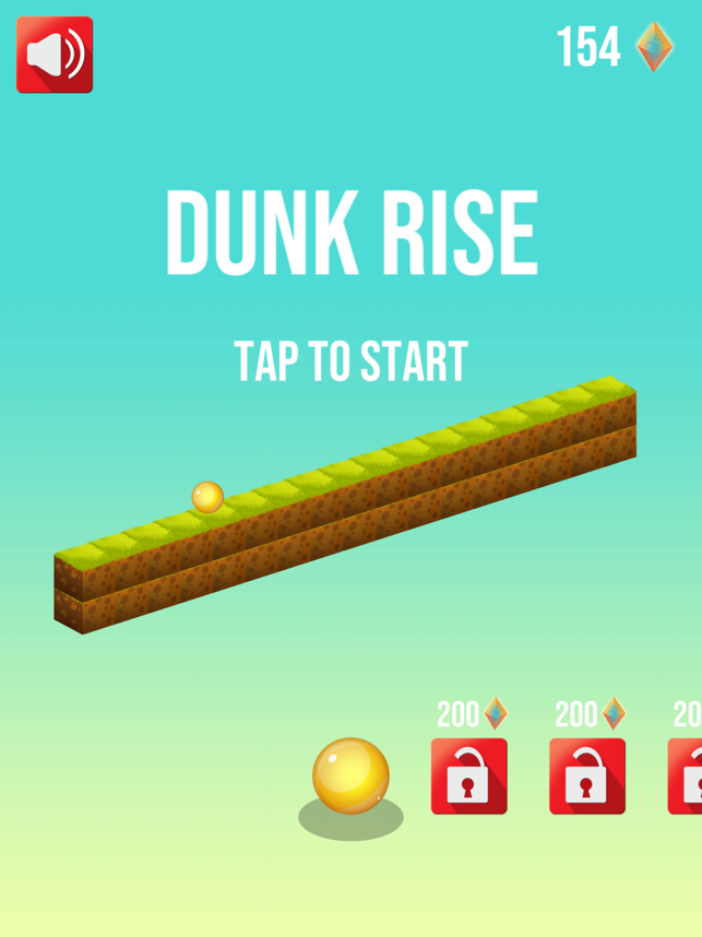 Dunk Rise Basketball Hoop Game Screenshot